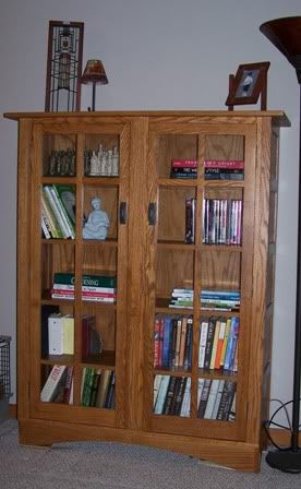Stickley style bookcase